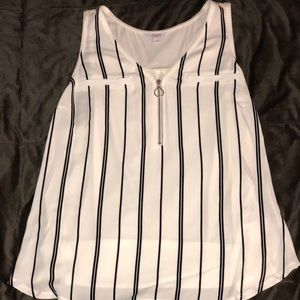 Striped Blouse NWOT